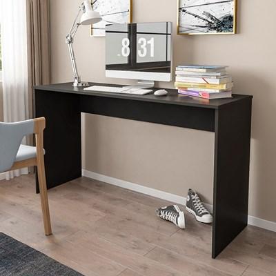 Mesa para Notebook Computador Escrivaninha 136cm Slim A01 Preto - Mpozenato