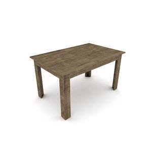 Mesa para Sala de Jantar TM21 para 4 Lugares Rústico - Dalla Costa