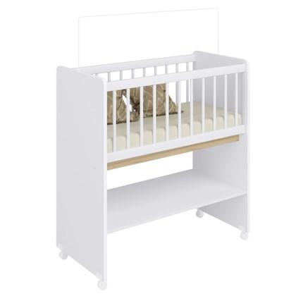 Mini Berço Moisés BY 501 com Colchão Branco - Completa Móveis