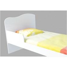 Mini Cama para Colchão 150 x 70 cm Munique Branco Brilho - Canaã