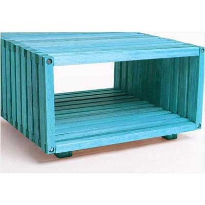 Módulo Dominoes com 45 x 22,5 Stain Azul - Mão & Formão
