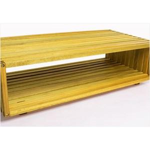 Módulo Dominoes com 90 x 22,5 Stain Amarelo - Mão & Formão