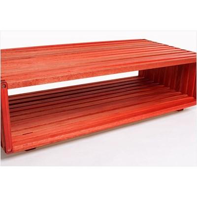Módulo Dominoes com 90 x 22,5 Stain Vermelho - Mão & Formão