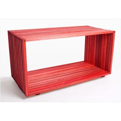 Módulo Dominoes com 90 x 45 Stain Vermelho - Mão & Formão