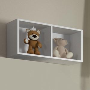 Nicho de Parede Decorativo BB 910 Branco - Completa Móveis