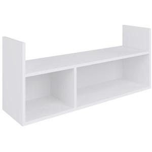 Nicho de Parede Decorativo BB 920 Branco - Completa Móveis