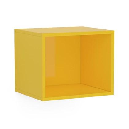 Nicho de Parede Decorativo Floripa Amarelo - Politorno