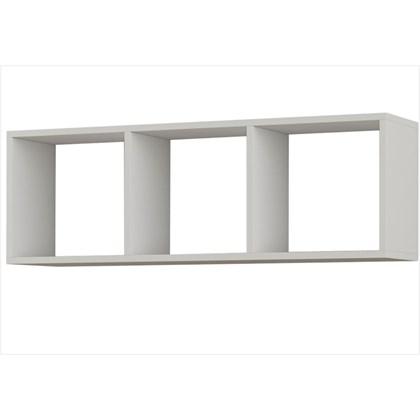 Nicho de Parede Decorativo Reto Belly Branco Brilho - Canaã