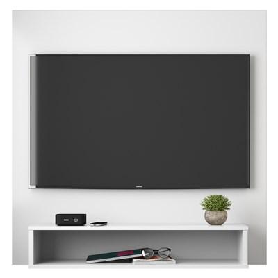 Painel Bancada Suspensa Para TV Até 32 Pol. Paris H03 Branco - Mpozenato