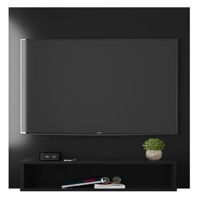 Painel Bancada Suspensa Para TV Até 32 Pol. Paris H03 Preto - Mpozenato