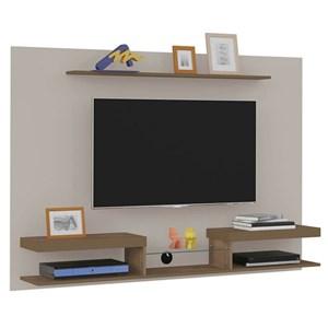 Painel Bancada Suspensa para TV até 47 Pol. Essence Off White/Pinho - Artely