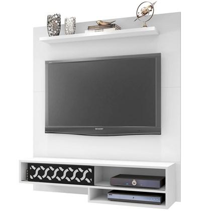 Painel Bancada Suspensa Para TV até 50 Pol. Orleans Branco - Móveis Leão