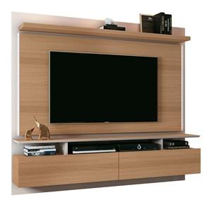 Painel Bancada Suspensa Para TV até 55 Pol. Limit 1.8 Freijó/Off White - HB Móveis