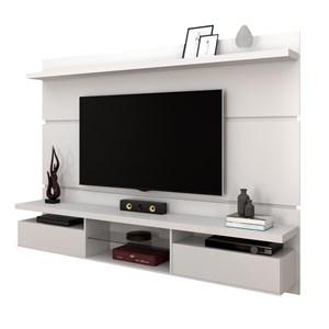 Painel Bancada Suspensa para TV até 60 Pol. 2.2 Lívia Branco - Mpozenato