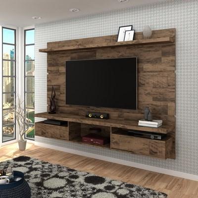 Painel Bancada Suspensa para TV até 60 Pol. 2.2 Lívia H01 Deck - Mpozenato