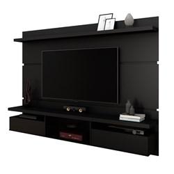 Painel Bancada Suspensa para TV até 60 Pol. 2.2 Lívia Preto Fosco - Mp