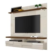 Painel Bancada Suspensa Para TV até 60 Pol. Lana 1.6 Off White/Savana - Madetec