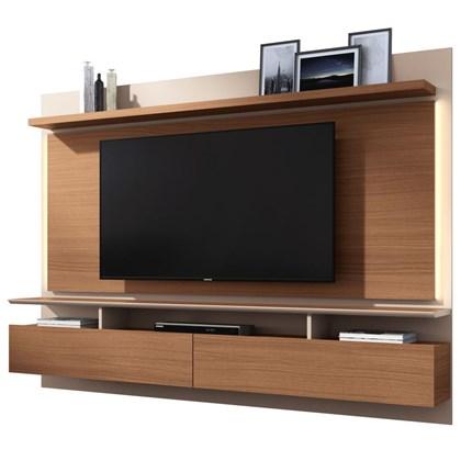 Painel Bancada Suspensa Para TV até 60 Pol. Limit Nature/Off White - HB Móveis