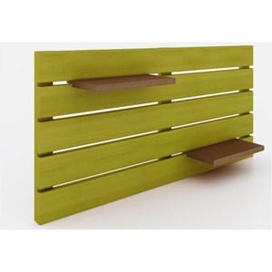 Painel Horizontal Componível Stain Amarelo - Mão & Formão
