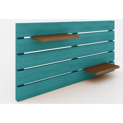 Painel Horizontal Componível Stain Azul - Mão & Formão