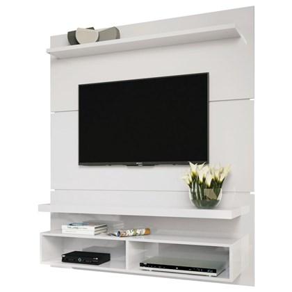 Painel Suspenso com Bancada Life 1.3 Branco - HB Móveis