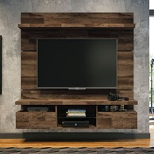 Painel Suspenso com Bancada Livin 1.6 Deck - HB Móveis