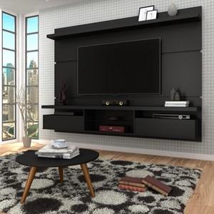 Painel TV Lívia 2.2 com Mesa de Centro Solaris Preto - Mpozenato