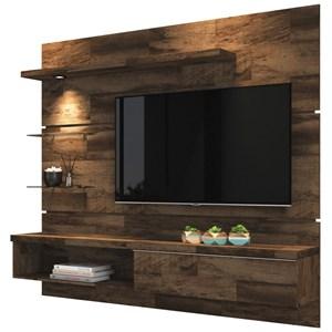 Painel TV Ores com Mesa de Centro Lucy Deck - HB Móveis