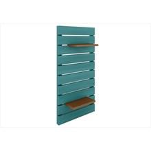 Painel Vertical Componível Stain Azul - Mão & Formão