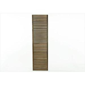 Painel Vertical Zen Estreito Nogueira - Mão e Formão