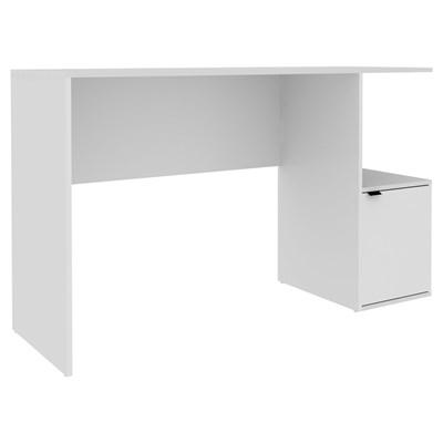 Penteadeira Escrivaninha 1 Porta 1 Nicho BPE 75 Branco – BRV Móveis