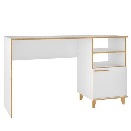 Penteadeira Escrivaninha 1 Porta Oslo BPE 67 Branco – BRV Móveis