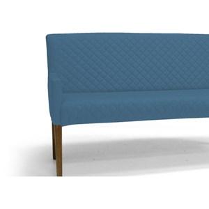 Poltrona Decorativa 2 Lugares Tressê Joy B170 Azul - Domi