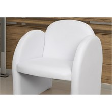 Poltrona Decorativa Nayara Corano Branco 280 - Matrix