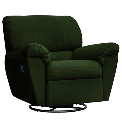 Poltrona do Papai Reclinável Retrátil Taty Suede D05 Verde Musgo - Mpozenato