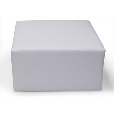 Puff Decorativo Tablet Corano Branco C-12 - Domi