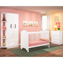 Quarto de Bebê Completo Ternura Branco - PN Baby