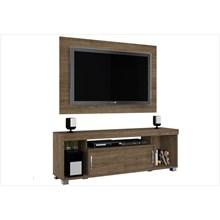 Rack Bancada com Painel Para TVs de até 50 Polegadas Pierre Rijo - Madetec