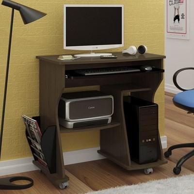 Rack para Computador 160 Amêndoa/Preto - Artely