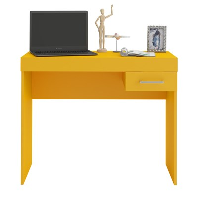 Rack para Notebook Cooler Amarelo - Artely