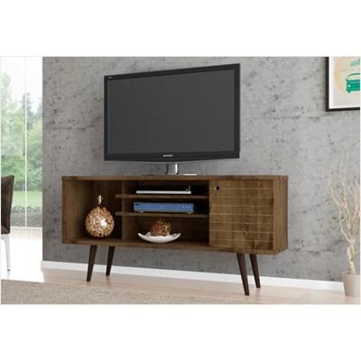 Rack Para TV até 60 Pol. 135 cm Safira Madeira Rústica - Bechara
