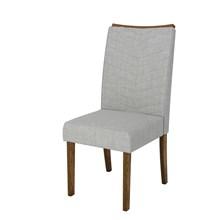 Sala de Jantar Mesa Rouge e 6 Cadeiras Serena Demolição/Off/Claro - Dj Móveis