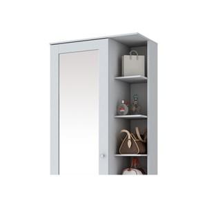 Sapateira 1 Porta com Espelho Duetto Branco - Henn