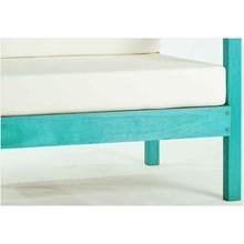 Sofá 01 Lugar Componível com Almofada Lazy Stain Azul - Mão & Formão