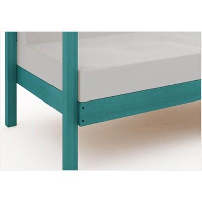 Sofá 2 Lugares Componível com Almofadas Lazy Stain Azul - Mão & Formão