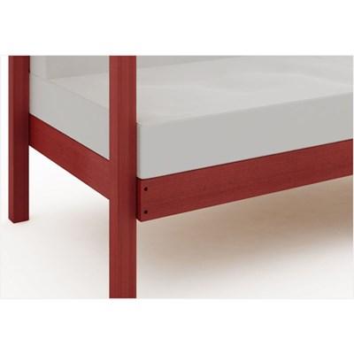 Sofá 2 Lugares Componível com Almofadas Lazy Stain Vermelho - Mão & Formão