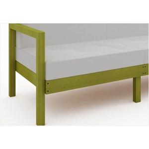 Sofá 3 Lugares Componível com Almofadas Lazy Stain Amarelo - Mão & Formão