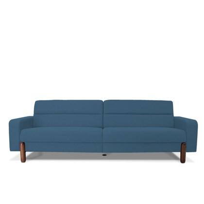 Sofá Marvin 4 Lugares 260cm B170 Azul - Domi