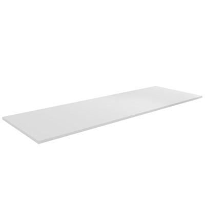 Tampo Para Balcão de Cozinha 160cm MDP Branco - AJL Móveis