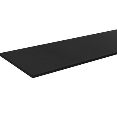 Tampo Para Balcão de Cozinha 160cm MDP Ônix - AJL Móveis